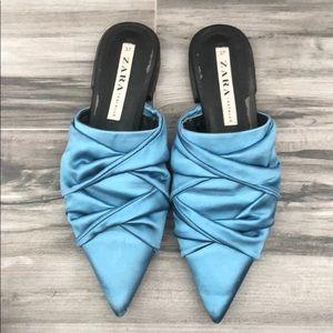 ZARA pointes toe mules